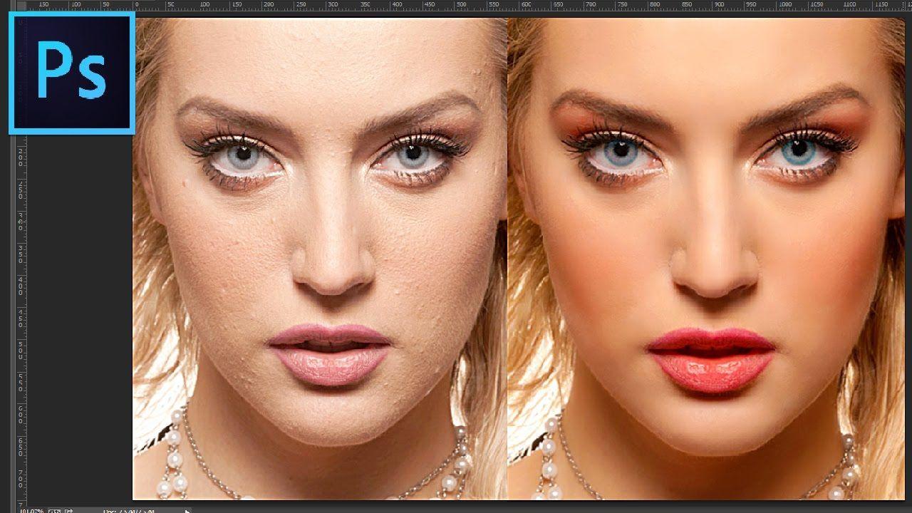 Photoshop tutorial professional portrait skin retouching 2017 photoshop tutorial baditri Choice Image