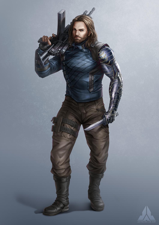 Avengers Infinity War Winter Soldier Bucky Barnes Marvel Fanart Winter Soldier Bucky Bucky Barnes Marvel Barnes Marvel