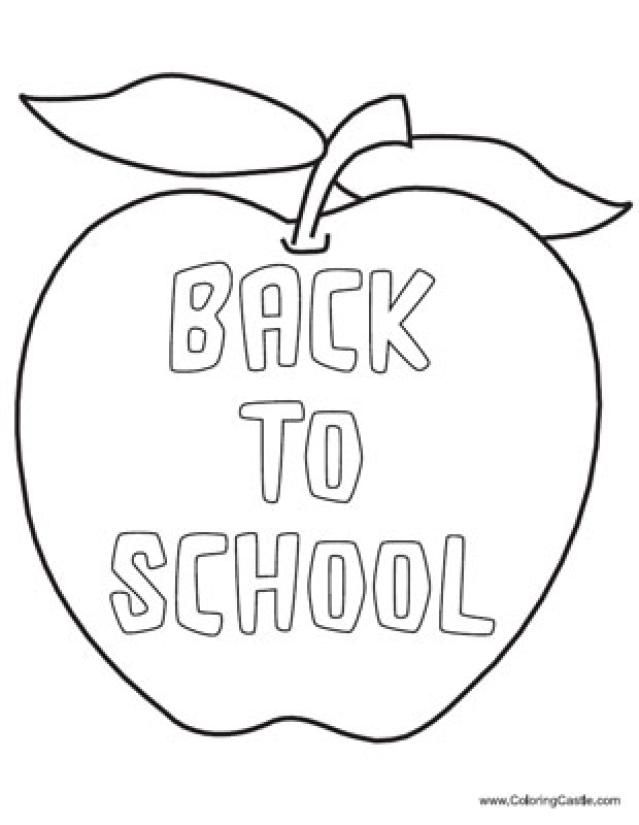 14 Places to Find Free Back to School Coloring Pages: Coloring ...