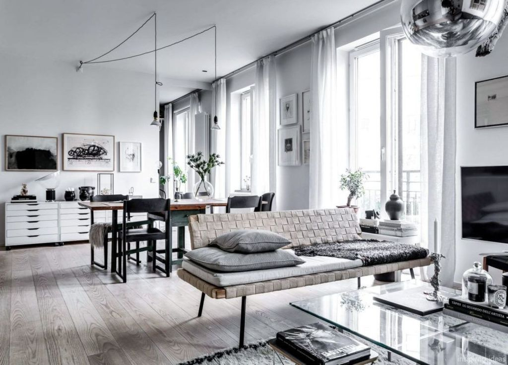75 Cozy Modern Apartment Living Room Decorating Ideas On A Budget Onehousedesign Info Living Room Decor Apartment Apartment Living Room Modern Apartment Living Room