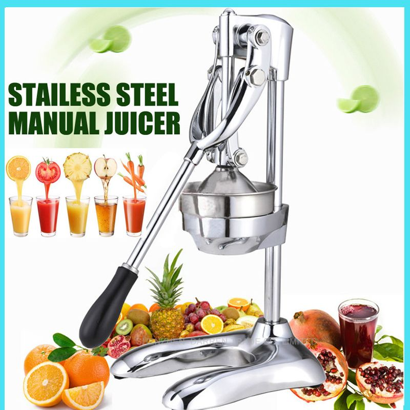 Home commercial fruits squeezer manual juicer machine