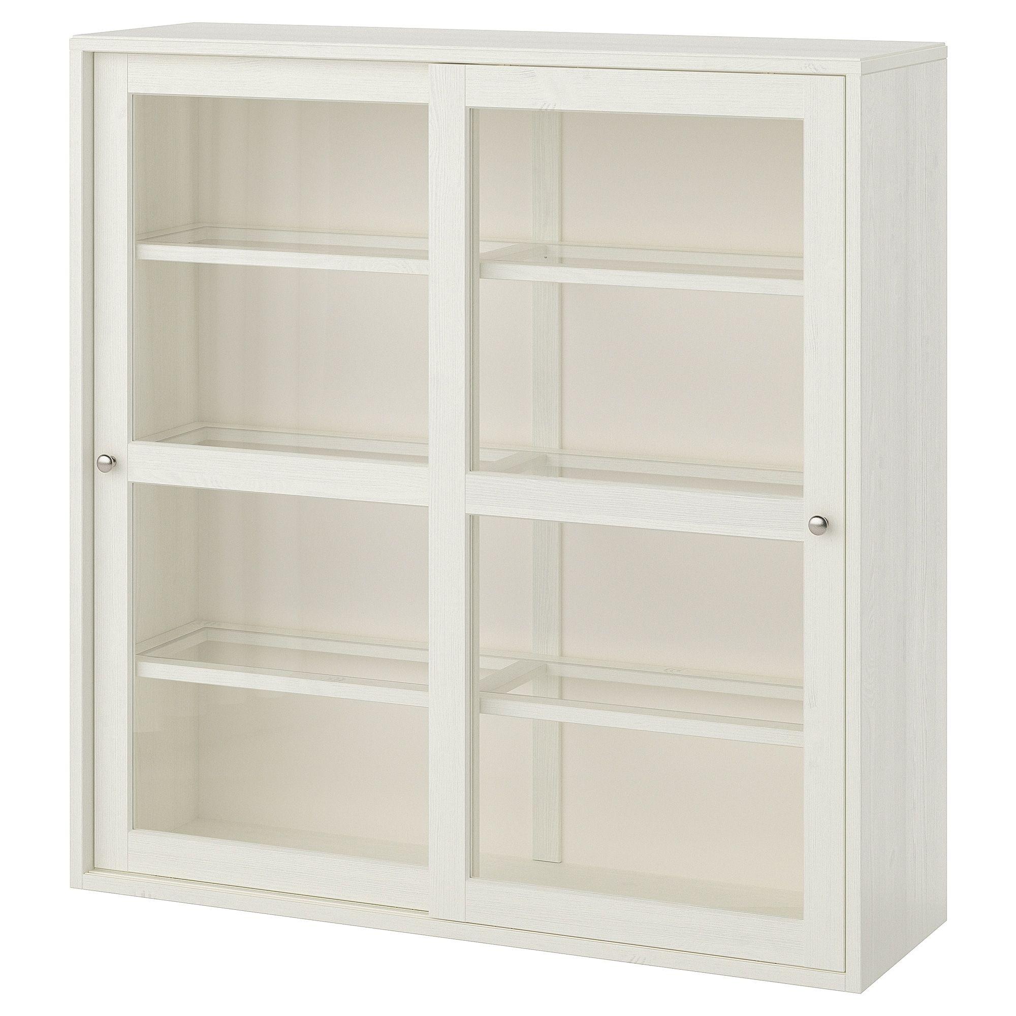 HAVSTA Glassdoor white 47 5/8x13 3/4x48 3/8
