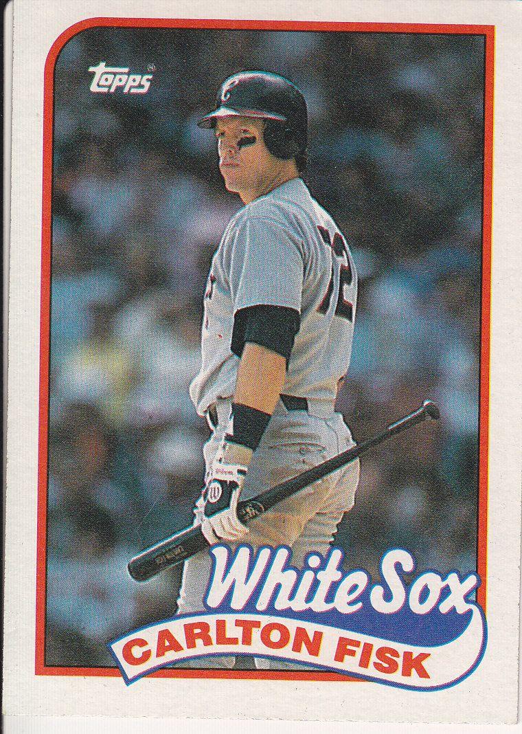 1989 Topps Carlton Fisk Baseball Trading Cards Baseball Chicago White Sox