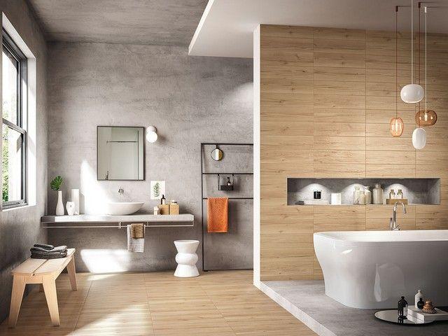 Gres porcellanato effetto legno larice riverside - Iperceramica pavimenti bagno ...