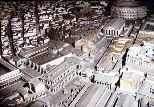 AWOL - The Ancient World Online: Digitales Forum Romanum |Forum Romanum 3d