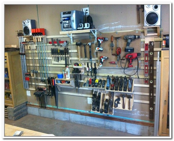 Exceptionnel French Cleat Garage Storage Systems | Home Design Ideas