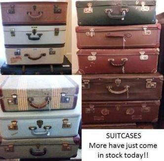 Vintage suitcases other antiques art collectables gumtree vintage suitcases other antiques art collectables gumtree australia port adelaide area junglespirit Image collections