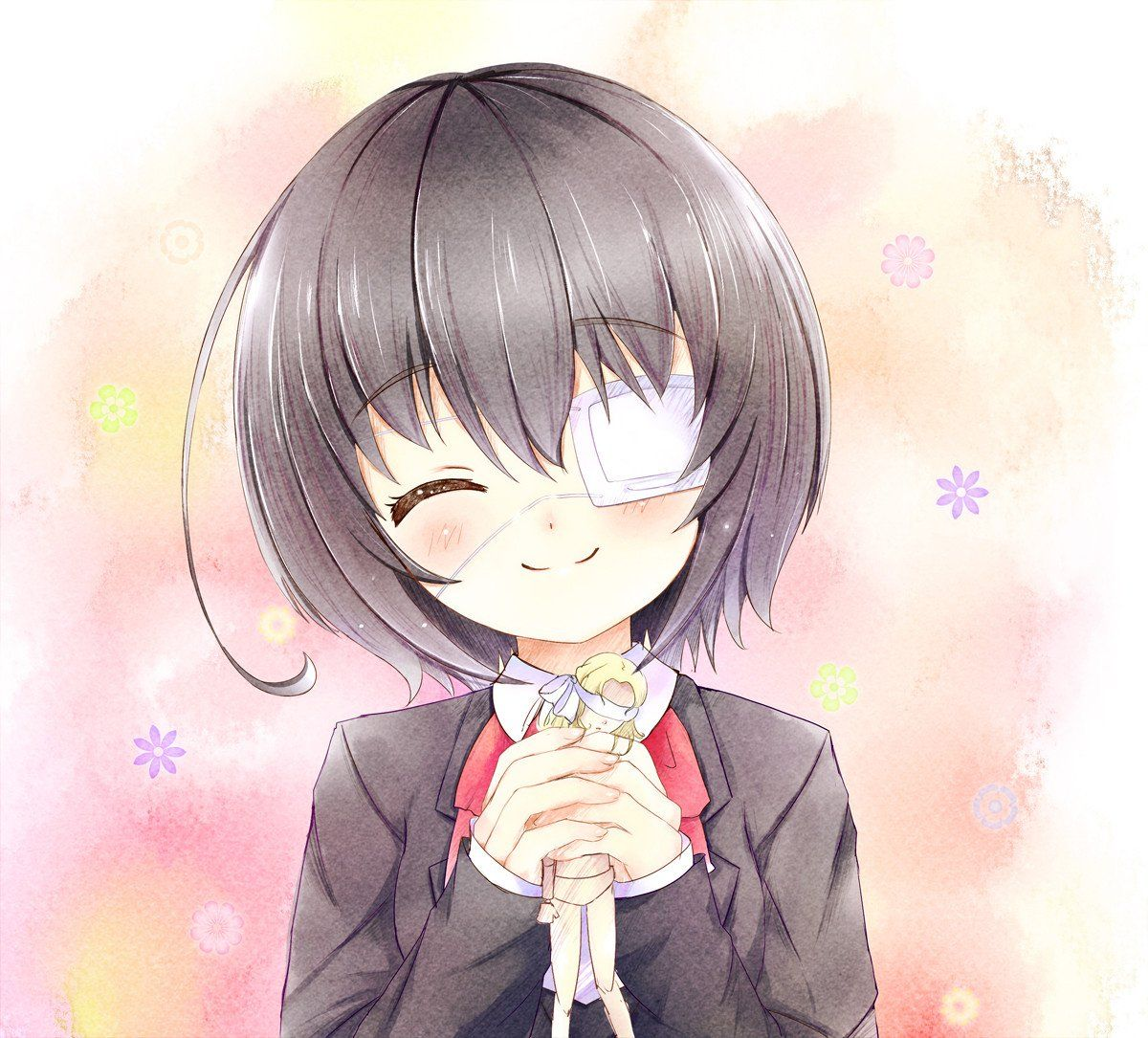[Moe bot][29298] Beautiful smile [Another] (1) ภาพวาด