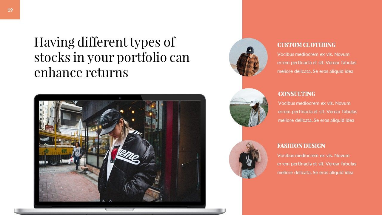 Moskva - Fashion PowerPoint Template #Fashion, #Moskva