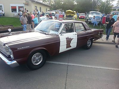 1965 Ford Custom Mn Highway Patrol Car