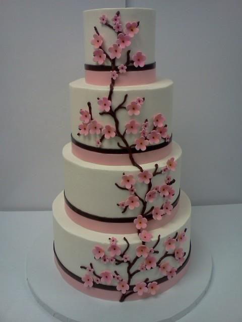 Cherry Blossom Cake Cherry Blossom Cake Classic Cake Cake