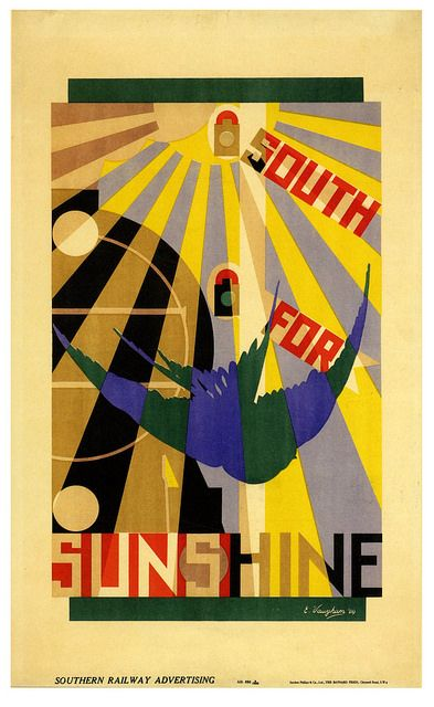 South for Sunshine, 1929, Edmond Vaughan by paul.malon on...