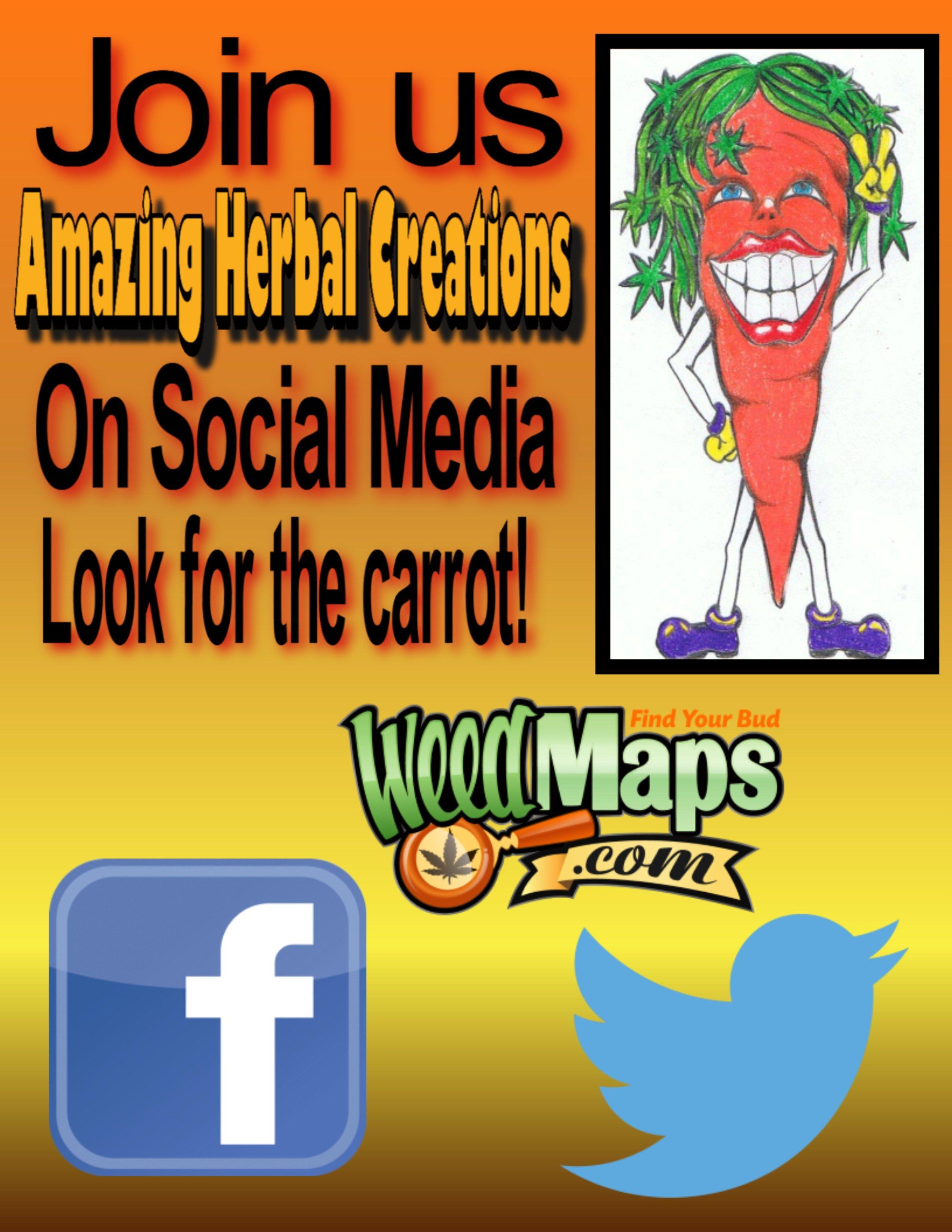 follow us on twitter amazingherbalcr like us on facebook leave us a reviewon weedmaps. follow us on twitter amazingherbalcr like us on facebook leave us