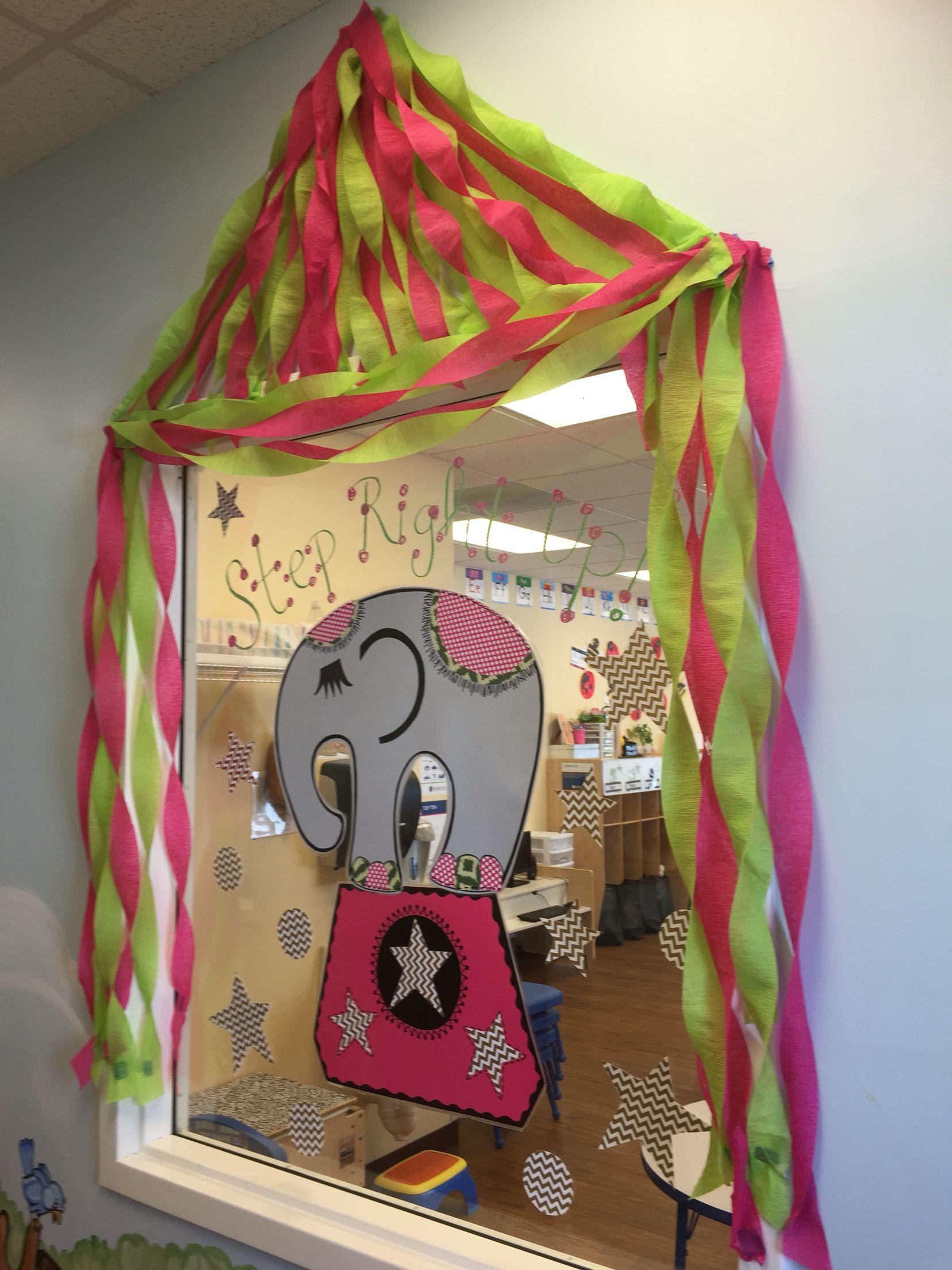 Circus Theme Preschool