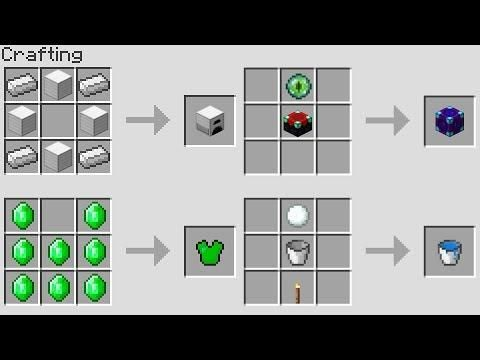 NEW MINECRAFT CRAFTING RECiPES! (Minecraft 1.13 Update) | Minecraft ...