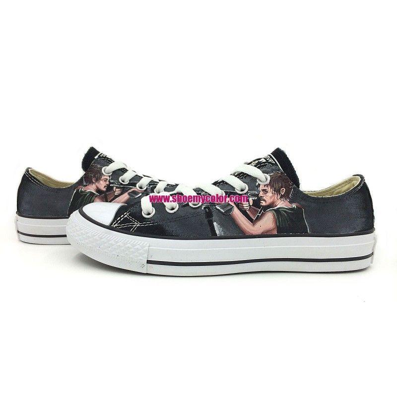 buy converse walking dead shoes