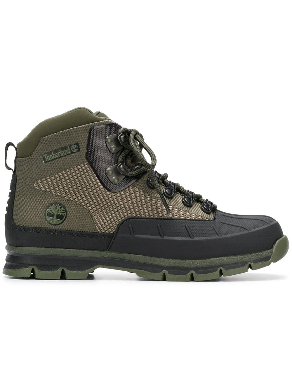 ff0c7f4a890d05 TIMBERLAND TIMBERLAND LACE-UP TRECKING BOOTS - GREEN.  timberland  shoes