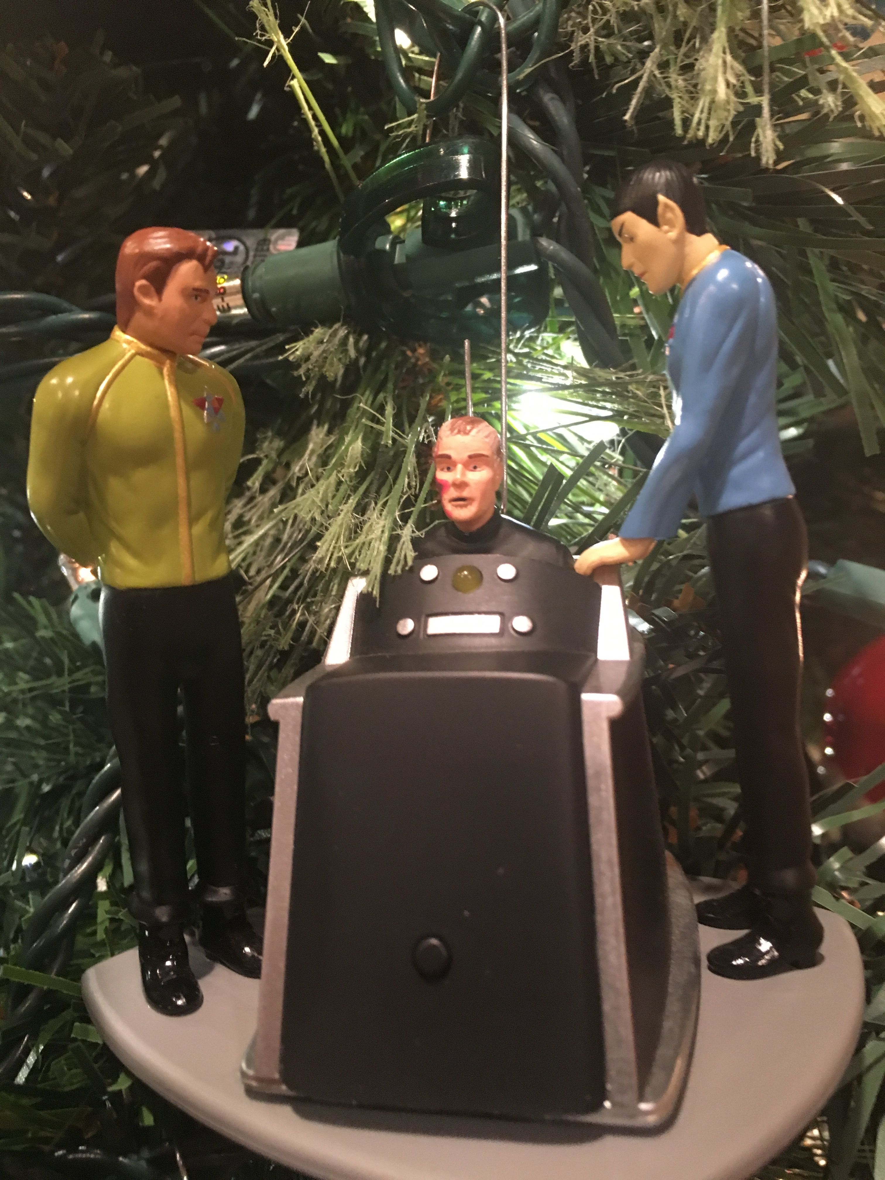 Star Trek Tos The Menagerie Christmas Ornament