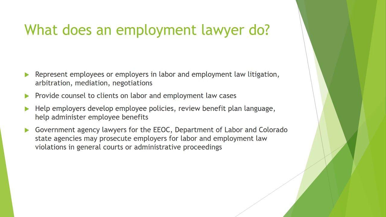 Employment lawyers in denver colorado school work find