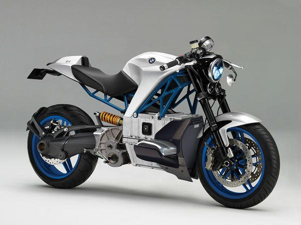 Battery Powered Bmw Electric Motorcycle Bmw Cafe Racer Eletric Bike