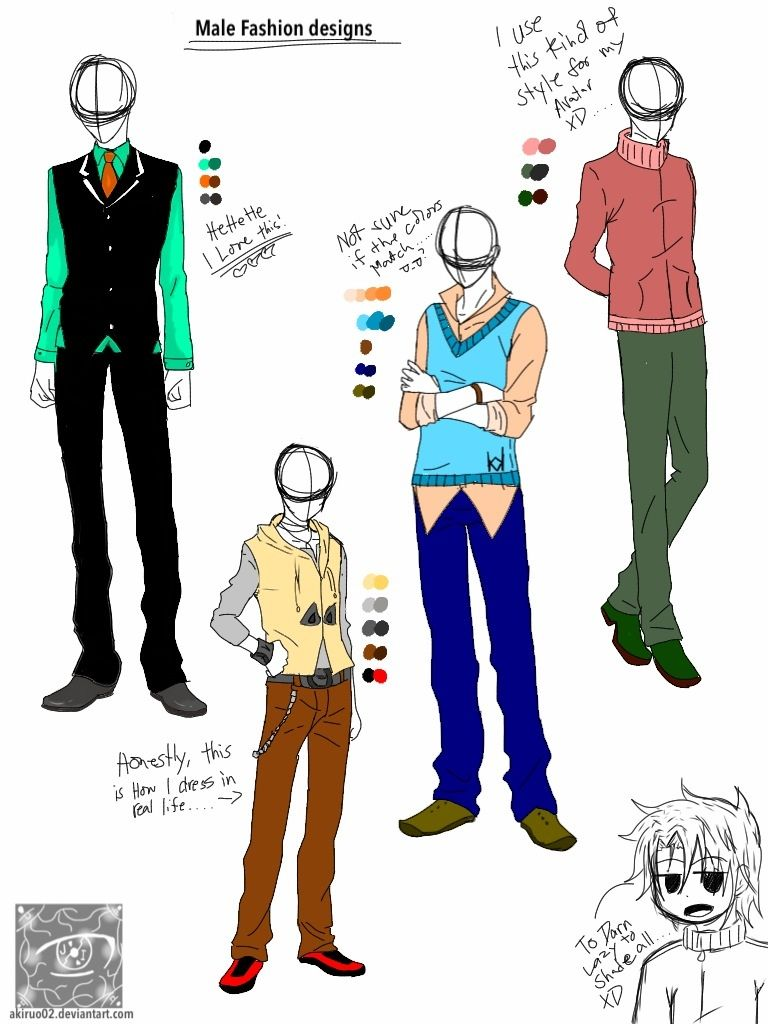 Anime male body clothes google search