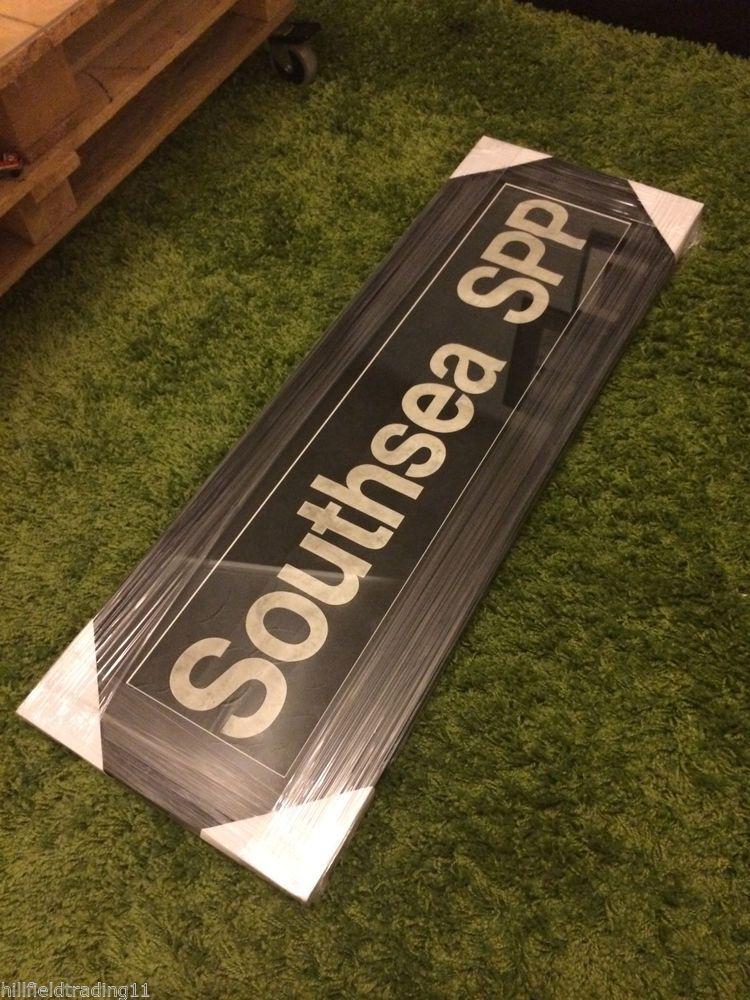 'SOUTHSEA SPP' Framed Original Genuine Vintage Portsmouth Bus Blind Art