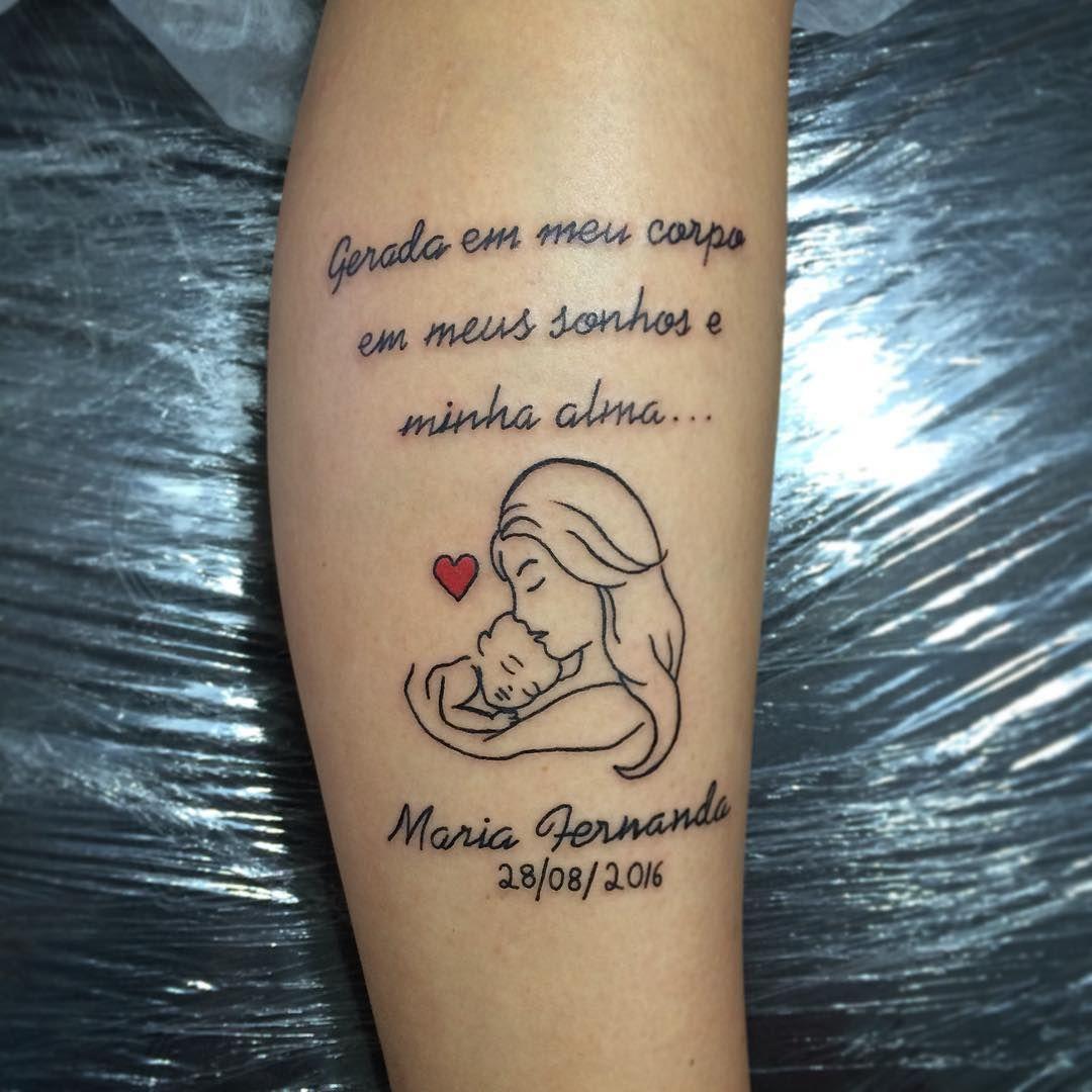 Tatuagens Para Mães 20 Ideias Para Celebrar O Amor Pelos Filhos
