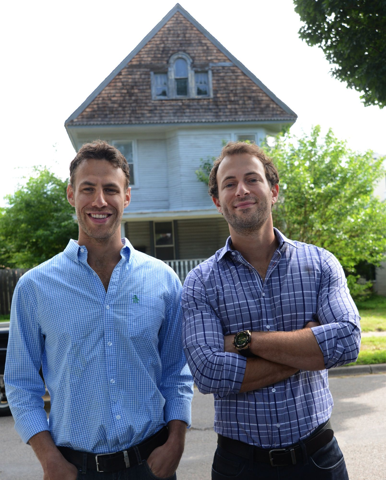 Drew Levin And Danny Perkins Of Renovate To Hgtv
