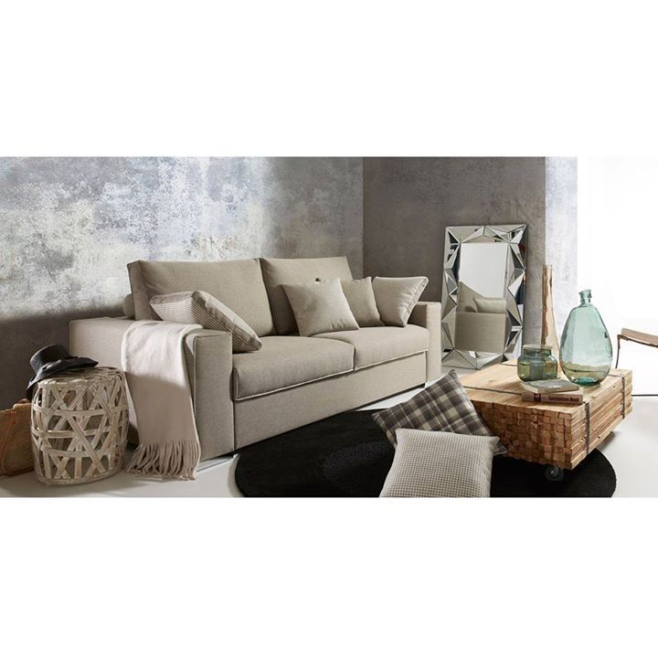 #SofáCAMA   Muebles de calidad que conjugan diseño y funcionalidad a la perfección. La solución perfecta para apartamentos pequeños o para cuando te haga falta una cama extra.