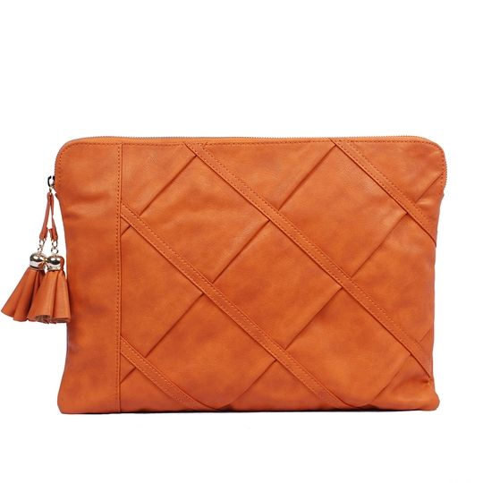 Get the look of Mrs. Beckham's Fall handbag collection to tote your tech in style!