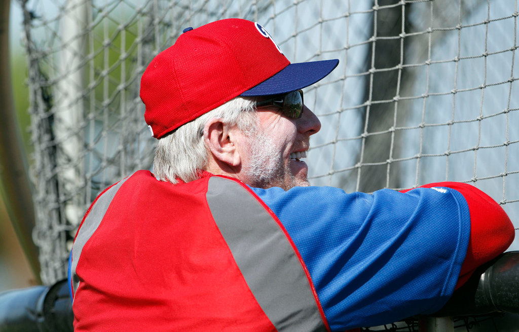 Michael Jack the Mentor Spring training, Phillies, Mentor