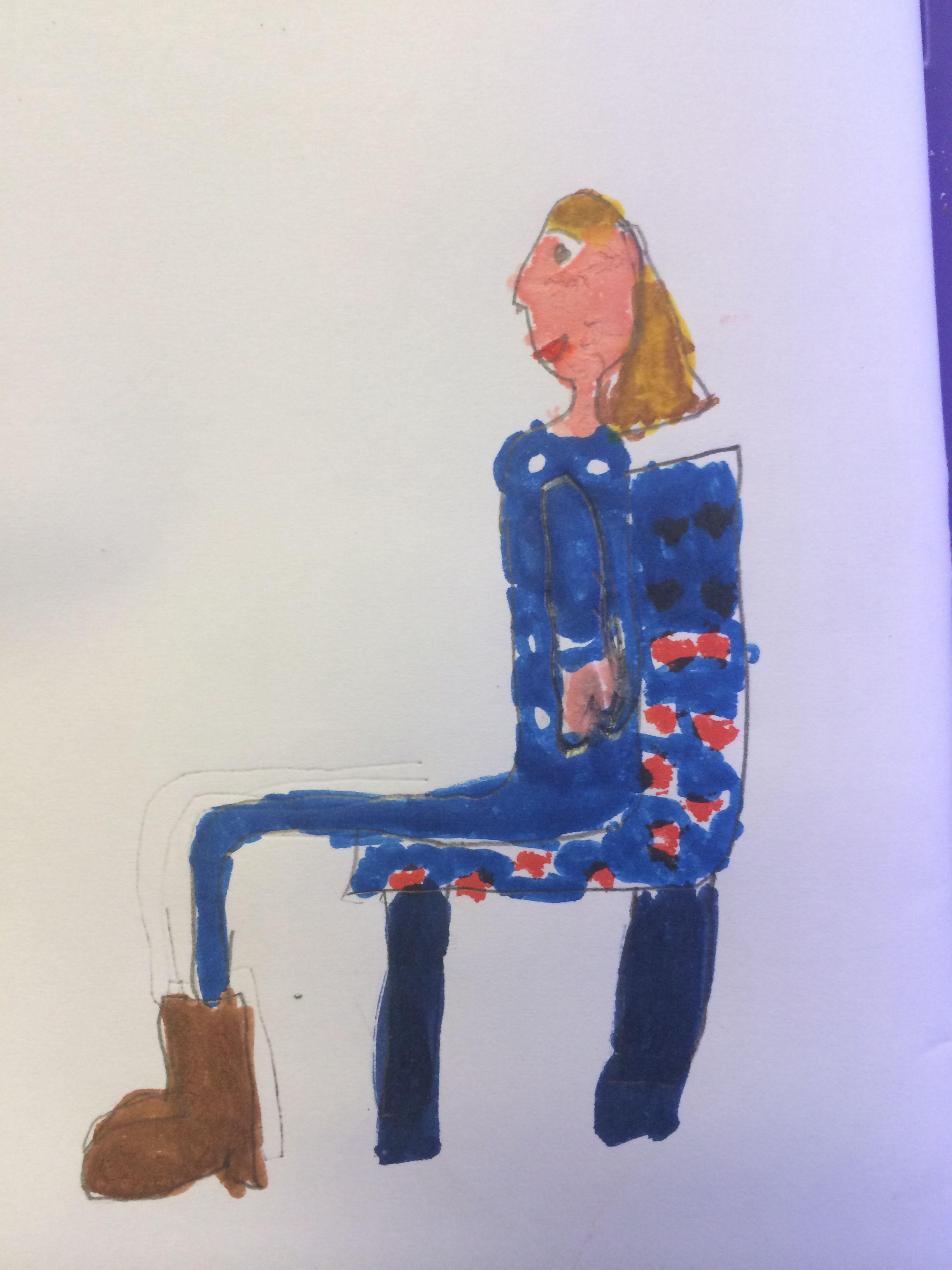 B's portrait of Mummy