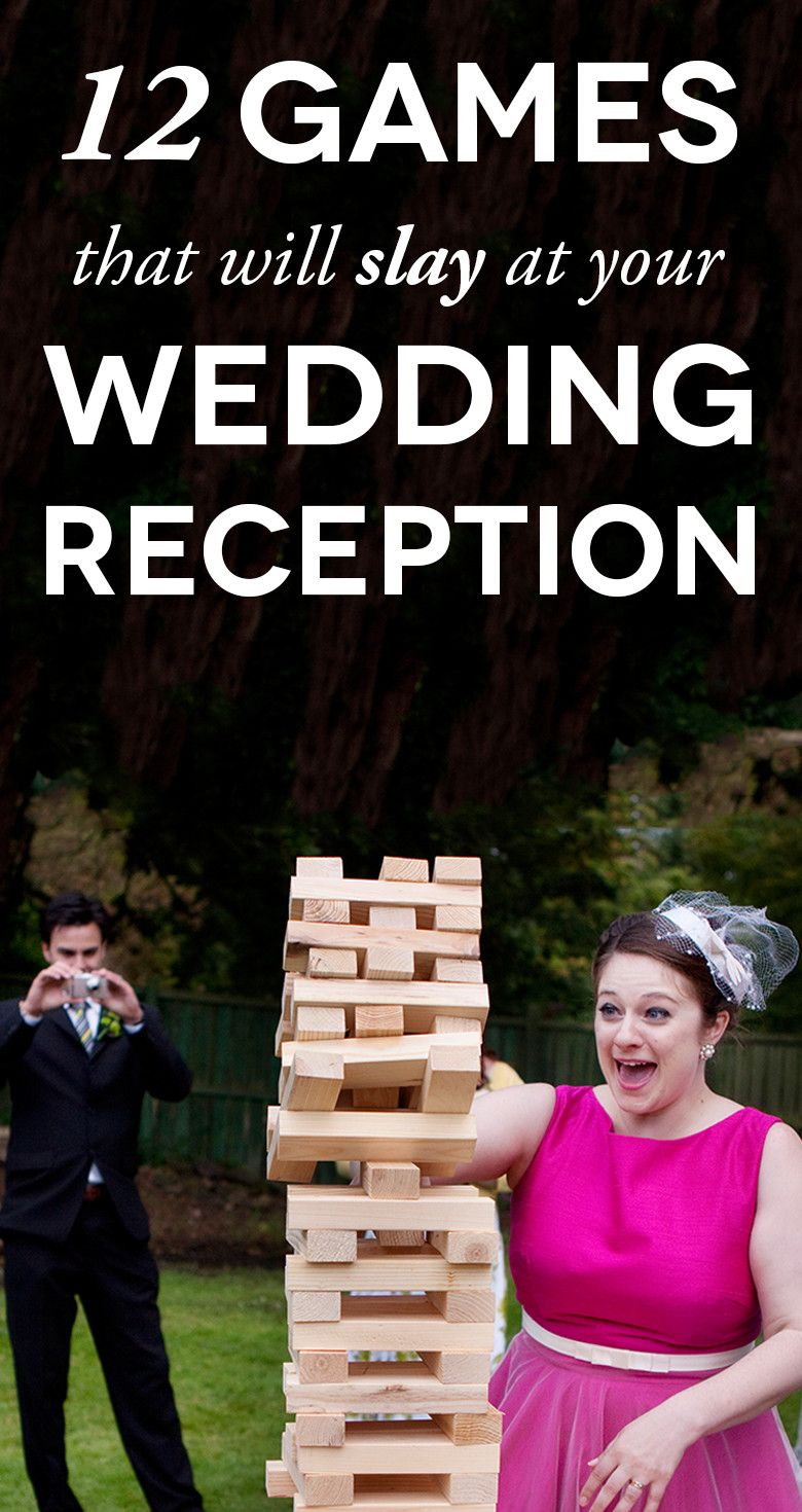 12 Wedding Games To Make Your Reception Slay More