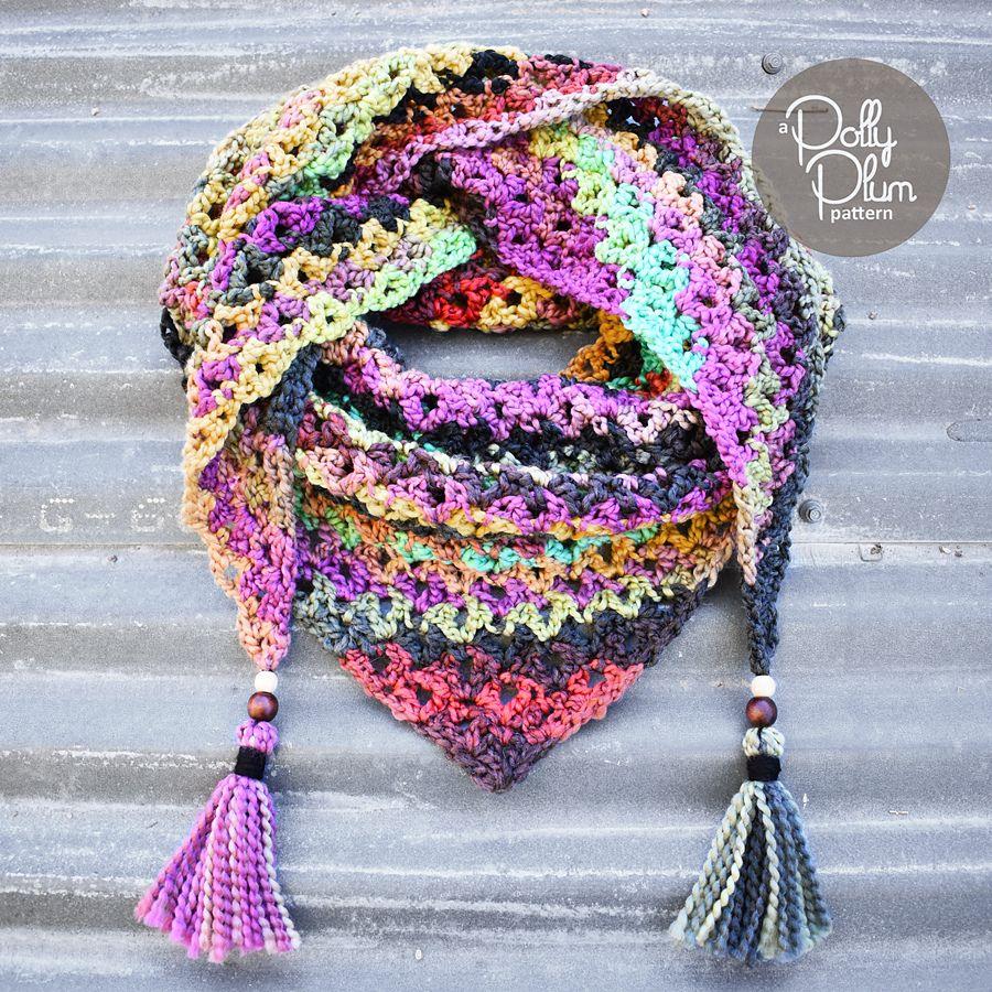 Jayma Shawl By Polly Plum - Free Crochet Pattern - (ravelry ...