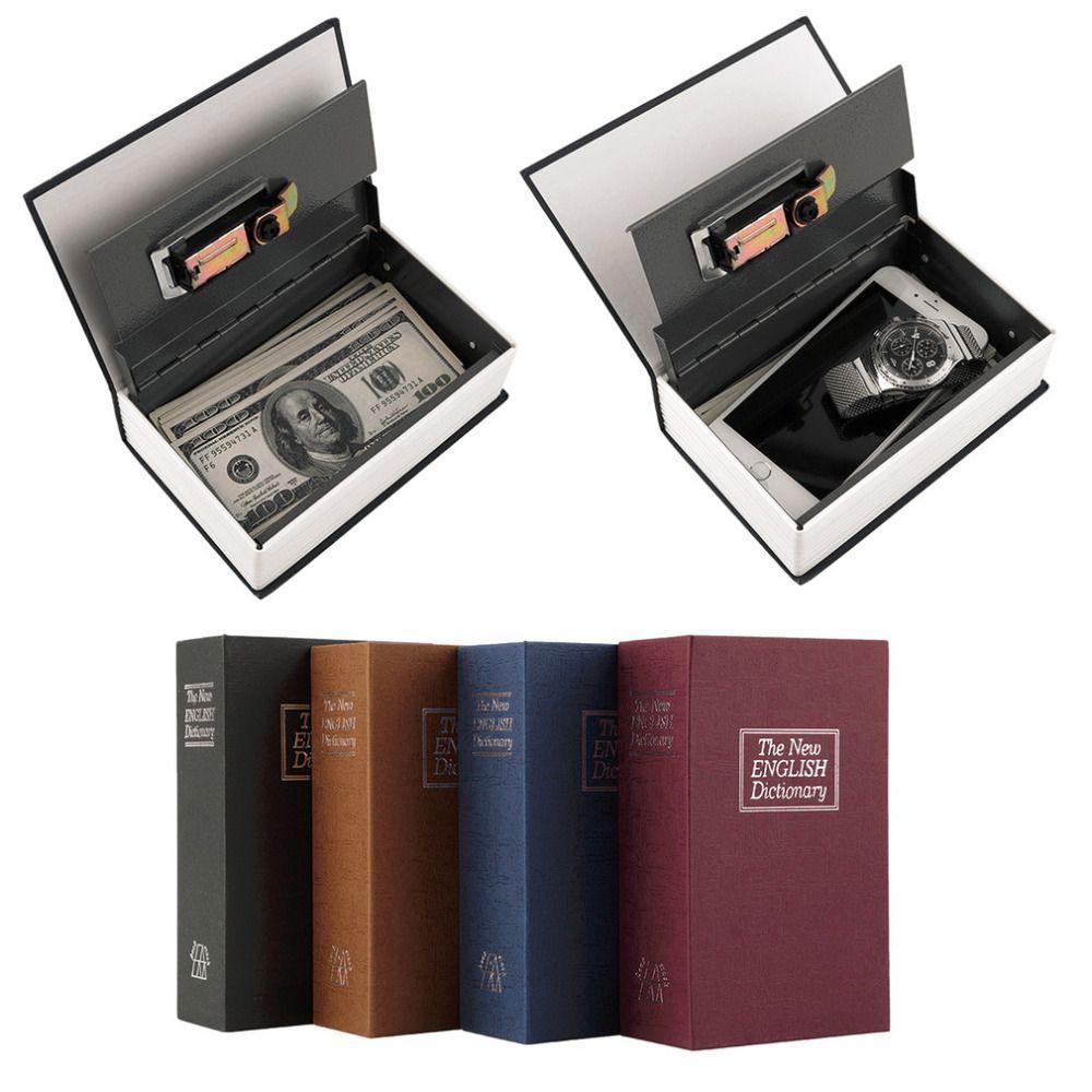 Popular safe Box Dictionary Secret Book Money Hidden Secret Security