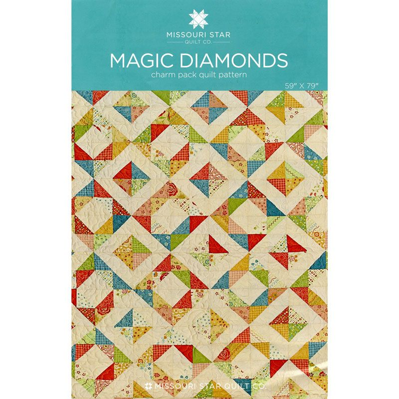 Magic Diamonds Pattern from Missouri Star Quilt Co | Quilt ... : diamond quilts - Adamdwight.com