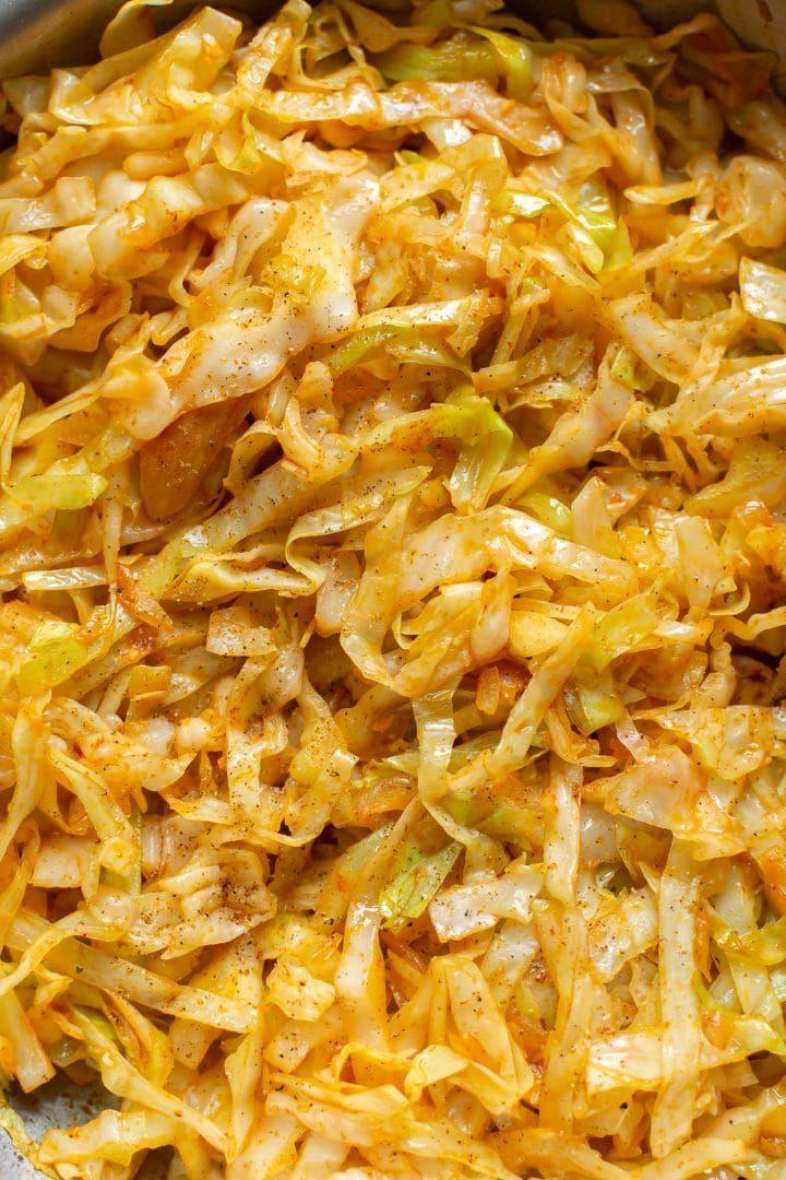 Simple Sautéed Cabbage • Salt & Lavender