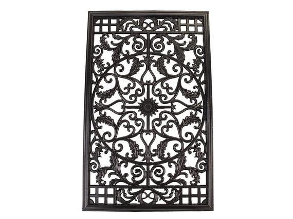 Rectangle Decorative Gate Fence Insert Acw61 Cast Aluminium Etsy Gate Decoration Fence Design Wooden Fence