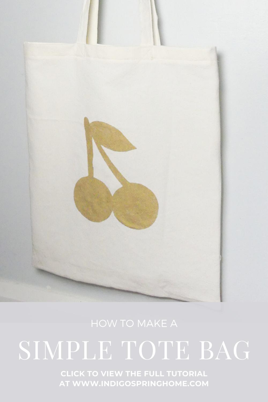 Simple Market Tote Bag Tutorial Tote Bag Market Tote Bag Tote Bag Tutorial