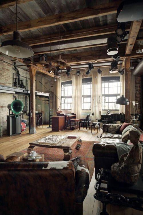 Best Industrial Interior Designs & Converted Warehouse Ideas | Retro