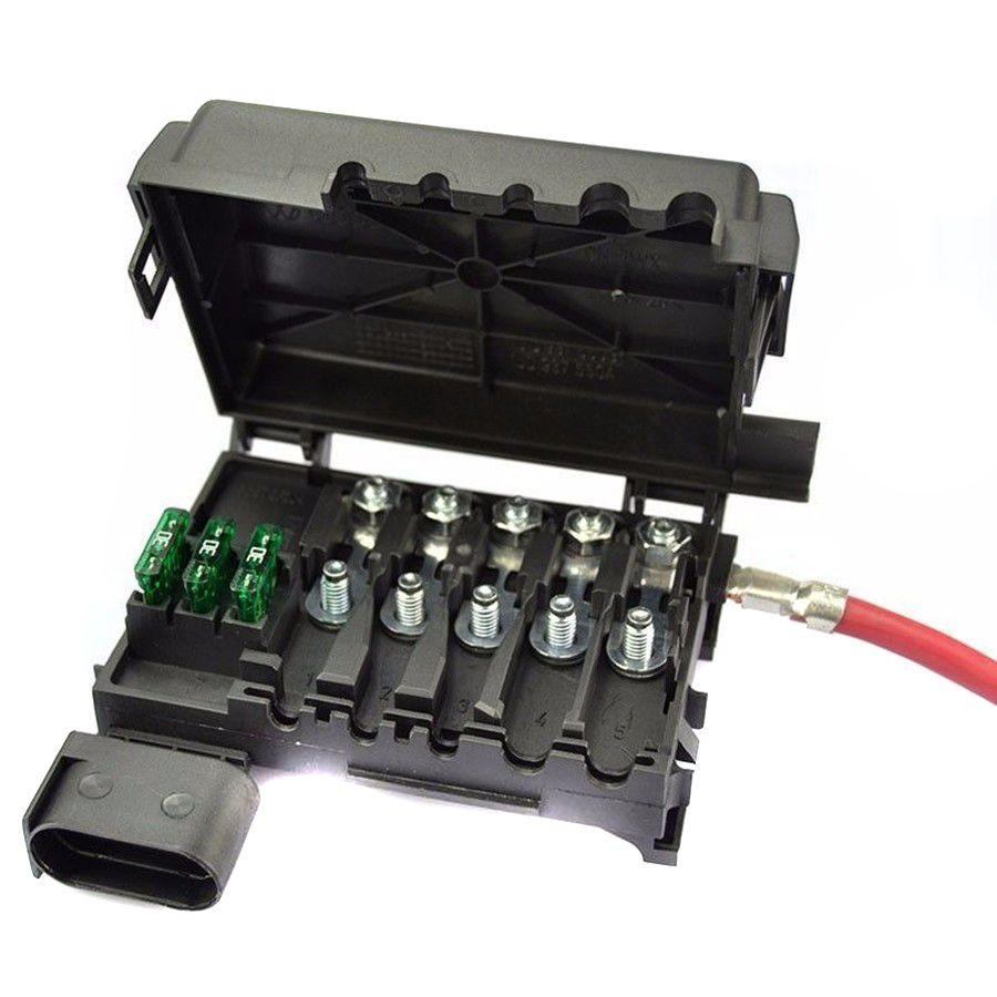 small resolution of tuke oem battery fuse box assembly fit for vw sko da octavia seat leon jetta bora 4 golf mk4 a3 1j0 937 617 d