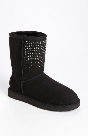 ugg australia classic short bling boot women available at rh pinterest com