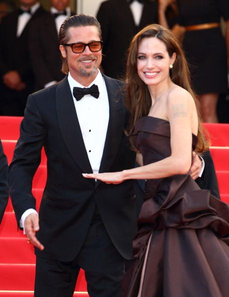 Brad and Angelina at Cannes Film Festival - 16 May 2011