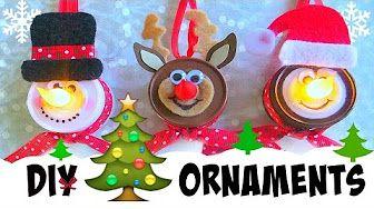 tea light candles ornaments - YouTube