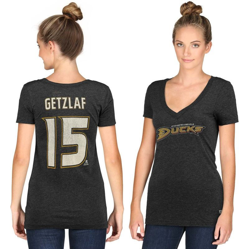 CCM Ryan Getzlaf Anaheim Ducks Women's Name & Number Tri