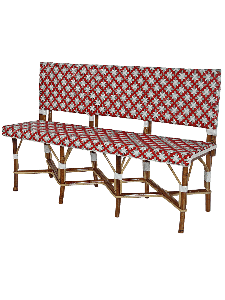 Banc Banquette Rotin LUXEMBOURG
