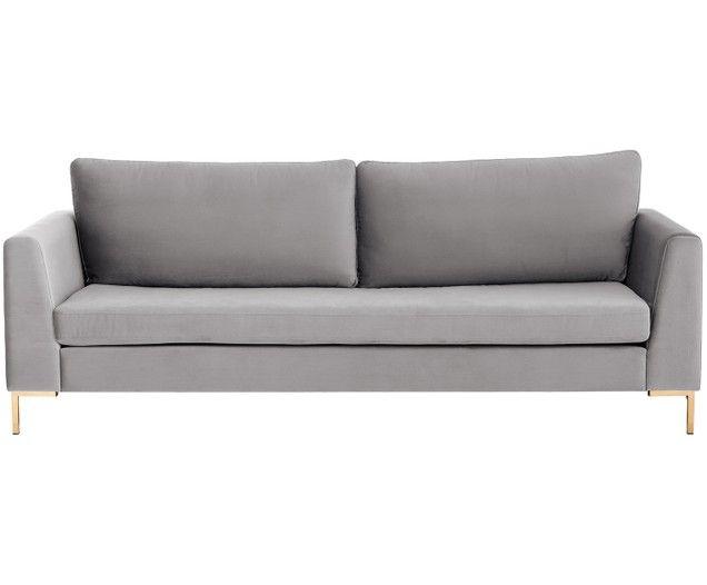 Samt Sofa Luna 3 Sitzer In 2019 Products Sofa Outdoor Sofa Furniture