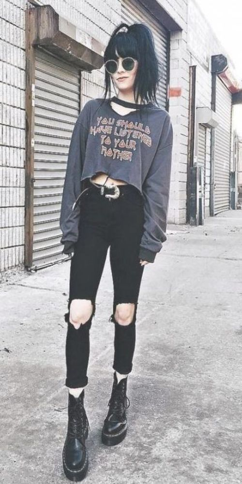 Super Fashion Style Edgy Soft Grunge Casual 65 Ideas - #casual #fashion #grunge #ideas #style