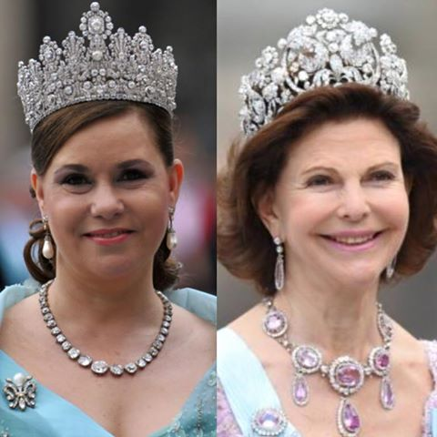 Maria Theresa of Luxenberg and Queen Sopia of Sweden