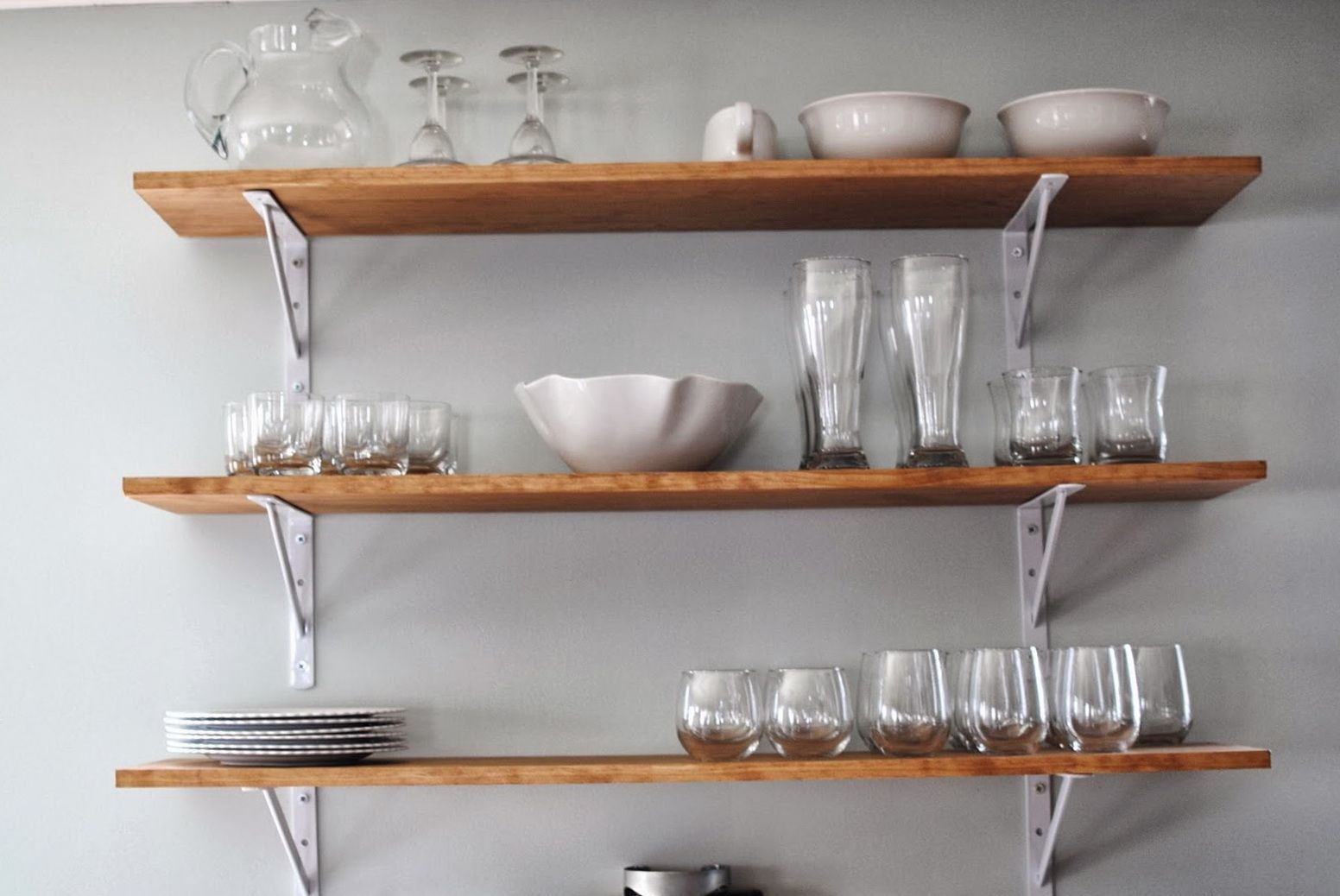 Kitchen Wall Shelves Design